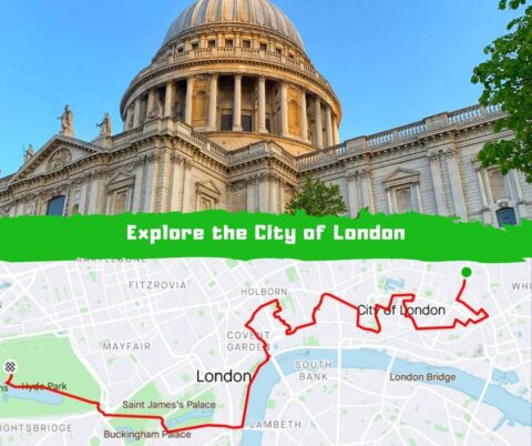 City of London Cycing Route