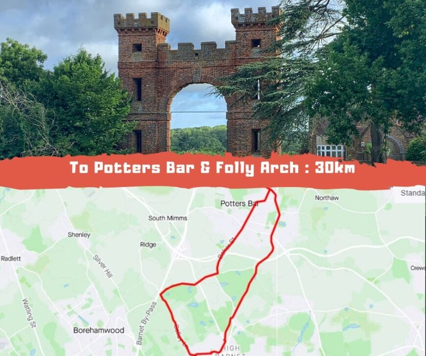 cycling route folly arch